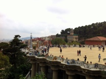 Parc Guell. Barcelona, Spain.